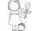 PI 063 instant download, digital stamp, digi stamp, Pure Innocence