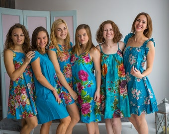 Cute Blue Nighties for every woman who loves a comfortable sleep