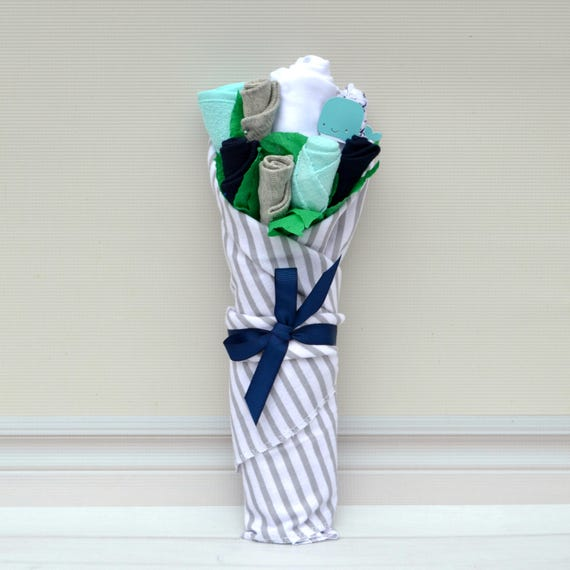 Whale Shower Gift, Whale Baby Shower, Nautical Baby Gift, Boy Baby Basket, Newborn Boy Layette Gift, Newborn Boy Clothes, Boy Baby Gift Set
