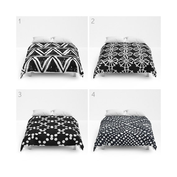Black and White Comforter - Queen Comforter - King Comforter - Full Comforter - Twin Comforter Twin XL Bedding Bedspread Bed cover