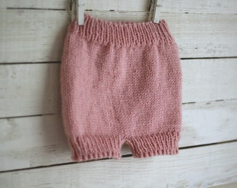 Pants, Knit Pants, Diaper Cover, baby pants, photo prop pants, diaper cover knit, pants for babies