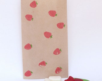 STRAWBERRY Paper Party favour bags, strawberry party. summer party, summer party theme, summer party favours
