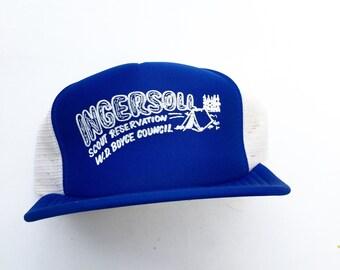 Vintage Boy Scout Ingersoll Scout Reserve Cap