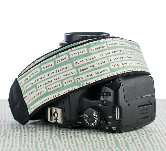 Dslr Camera Funny Quotes: Camera Strap 001, DSLR, Happy Thoughts, Pocket