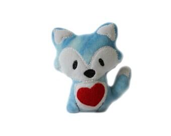 Kawaii Fox | Plush Fox | Stuffed Woodland Animal | Gift for Him | New Baby Gift | Baby Shower Gift | Nursery Decor | Nursery Art | Fox Plush