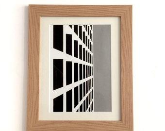 Concrete - Original papercut art