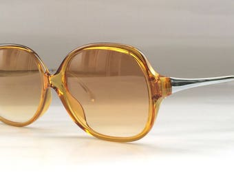 80s Vintage Austrian Made Cobra 3092A Light Brown Sunglasses