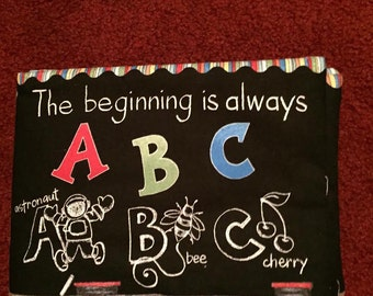 The Beginning is always ABC