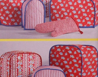 Appliance Covers Sewing Pattern UNCUT Simplicity 2753 toaster blender cover pot holder oven mitt