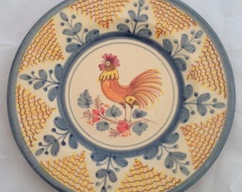Spanish Rooster Plate