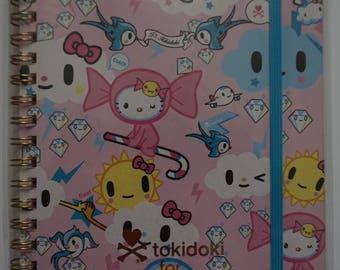 Sanrio Hello Kitty Tokidoki Notebook (M)
