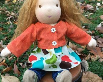 Wadorf Doll 13 Inch Waldorf Inspired Noble Doll Lauren