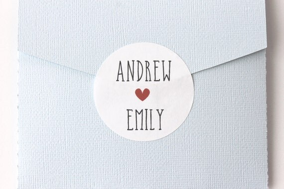Wedding Stickers, Personalized, Wedding Favor Stickers, Wedding Favor Labels