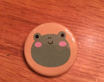 "1.25"" Frog Pinback Button"