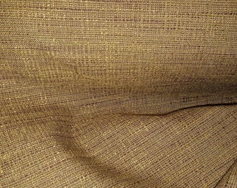 Brown COPPER BLACK THREAD Woven Drapery  Upholstery Fabric,16-60-07-129