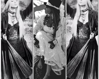 Black Velvet dress, Gypsy soul Stevie Nicks, gypsy cowgirl, romantic Maxi dress, Dresses, rustic country chic clothes, True Rebel Clothing