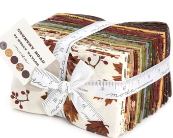 Country Road 38 Fat Eighth Bundle by Holly Taylor for Moda Fabrics 6660F8
