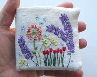 Embroidered Needle Book