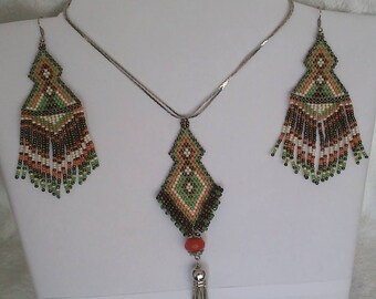 Indian Earrings And Necklace