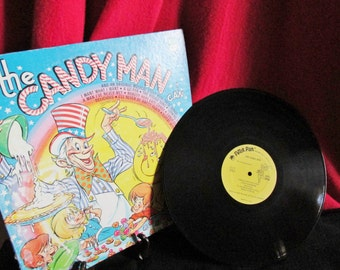 "Children's Recording ""The Candy Man Can""  LP, #8112 by Peter Pan Records"