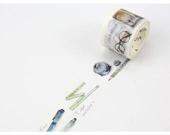 Study washi tape 30 mm x 7M