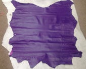 MA15. Violet Leather Lambskins