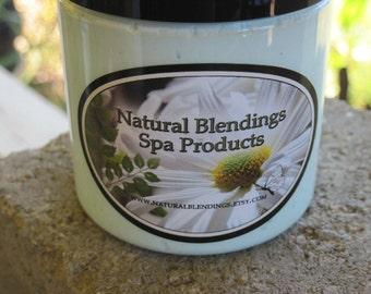 JUNIPER MIST Sugar Scrub  with New Skin Loving Oil Blend  in 8 oz Jar Made to Order Custom Fragrance