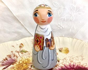 St Ava Catholic Saint Doll Toy - Made to Order
