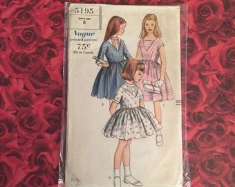 60's Vintage Vogue Sewing Pattern