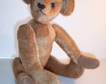 Vintage Mohair TEDDY BEAR - Artist Bear by Iris Voorhies - Jointed - No Damage - USA Shipped Insured - Will Ship Int'l
