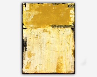 Yellow Painting large canvas art decorative abstract painting