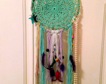 adorable Dreamcatcher handcrafted size 9,5 in