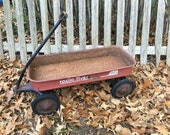 Radio Flyer 90 Rusty Wagon