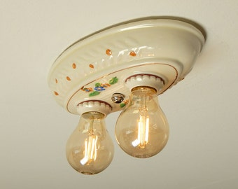 1930s Light Fixture Etsy