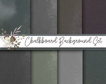 Chalkboard digital paper, chalkboard digital backgrounds, chalkboard paper, scrapbooking paper, wrapping paper, card making paper, cu ok