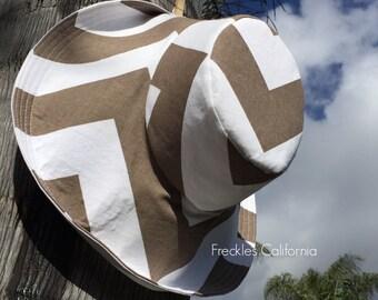 Wide Brim Sun Hat by  Freckles California