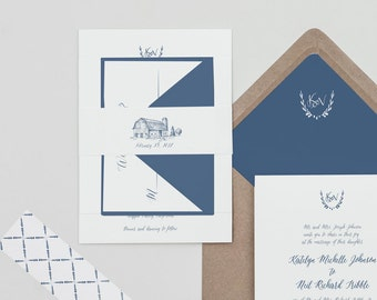 Rustic Slate Calligraphy Wedding Invitation Printable Template,Country Wedding Invite Digital Download,Barn invitation Printable,Calligraphy