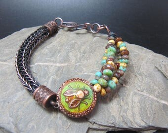 Handmade Mood Changer Bracelet - Busy Bees