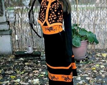 MaySale Vintage 70s Designer Skirt and Vest Set, Small Stanley Korshak Chicago
