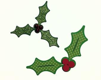 Christmas Holly SVG