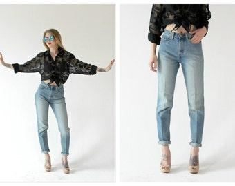 90s High Waist GAP Jeans- 2, 26, XS/S, Light Wash, Mom Jeans, Boyfriend Jeans