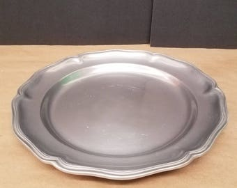 Vintage Pewter Tray/Meat Plate