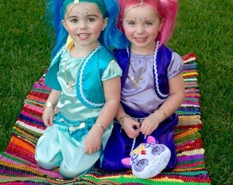shimmer and shine costume halloween dress up party shine costume shimmer costume