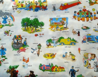 A is for... vintage children MY<heart>KT Windham fabric FQ or two