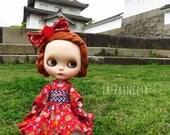 La-Princesa Kimono Lolita Outfit for Blythe (No.Blythe-343)