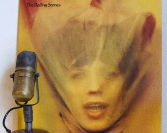 "ON SALE The Rolling Stones Vinyl Record Album 1970s Classic Rock LP ""Goats Head Soup"" (1973 Rs Records w /inner sleeve)"