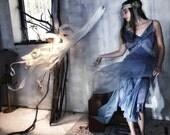 Blue Faerie Dress / Faerie Wedding Dress / Faerie Prom Dress