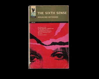 1960s Paperback: The Sixth Sense, by Rosalind Heywood. Book. E.S.P.