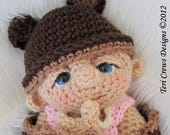 FLASH SALE Baby Doll Crochet Pattern by Teri Crews PDF format Instant Download