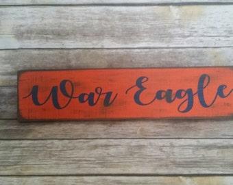SHIPS FREE TODAY! Auburn Sign, War Eagle, Auburn, Alabama, Auburn Tigers, Alabama Sign, Auburn University, Auburn Football, fixer upper,